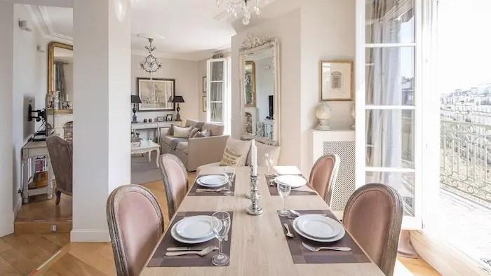 Best VRBO Luxury Paris Airbnbs With Eiffel Tower Views Rooftop Terrace Paris Apartment For Rent Paris Chic Style