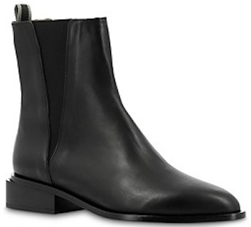 Black Parisian Boots French Boot For Walking Work Travel Sightseeing Paris Chic Style
