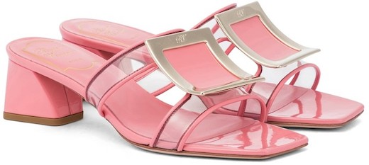 Roger Vivier French Sandals For Walking Work Everyday Wear Parisian Street Style Shoes Paris Chic Style