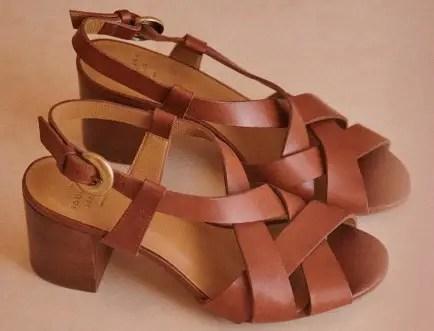 Sezane Best French Shoes Brand French Sandals Parisian Fashion Shoes Paris Chic Style
