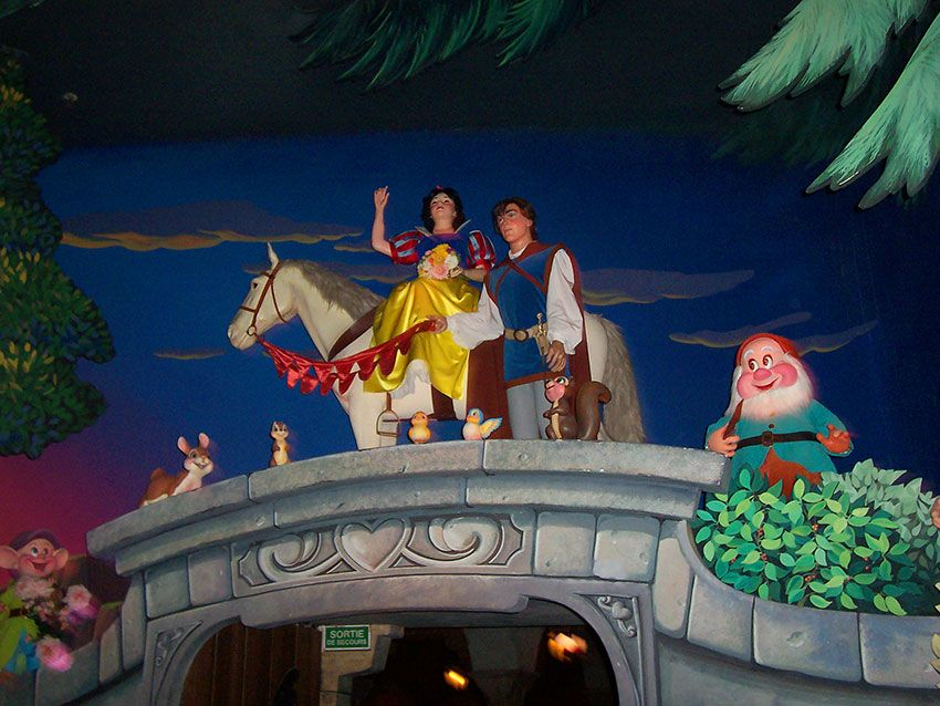 Blancanieves y los 7 enanitos  Disneyland Paris