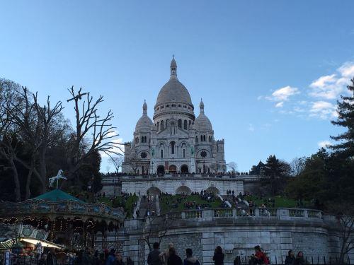 El barrio de Montmartre-Sacré Coeur