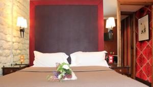 Værelse på Hotel Prince de Condé