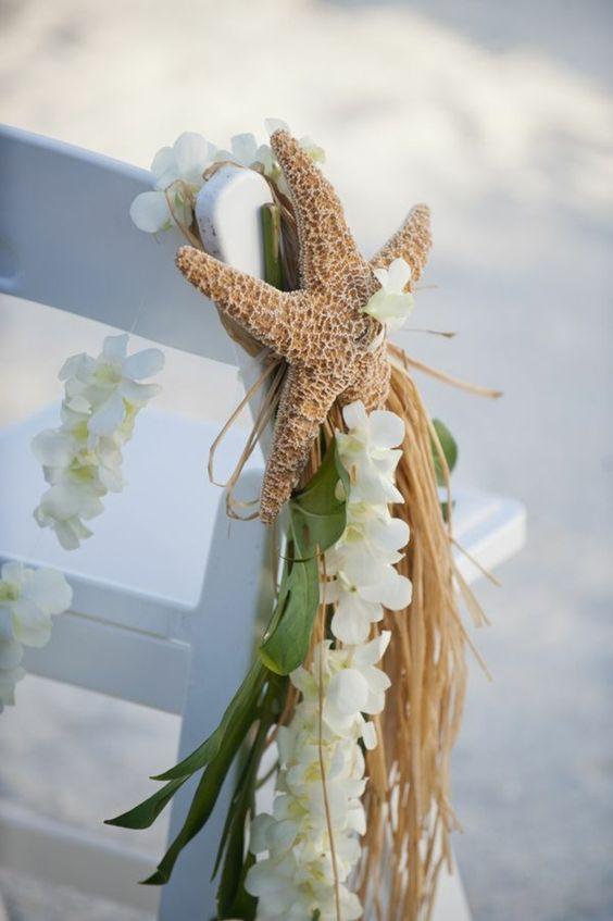 mariage-thème-bord-de-mer-chaise-étoile-de-mer