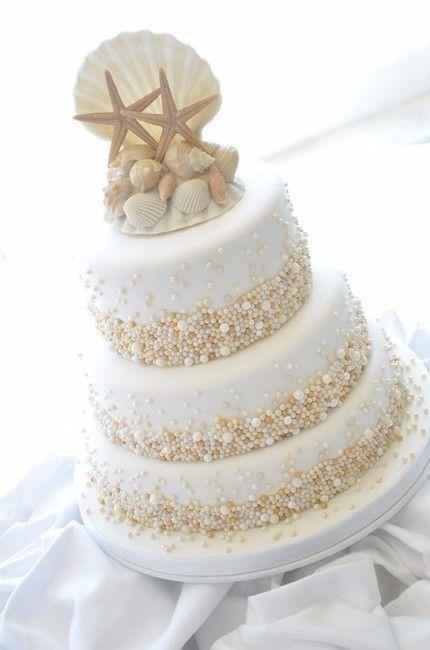 mariage-thème-bord-de-mer-pièce-montée-étoile-de-mer
