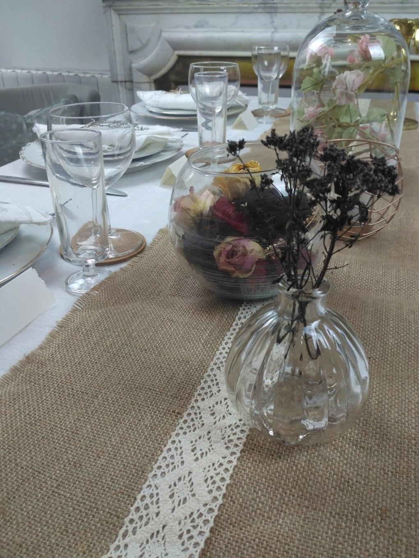 chemin-de-table-oile-de-jute-mariage-vintage