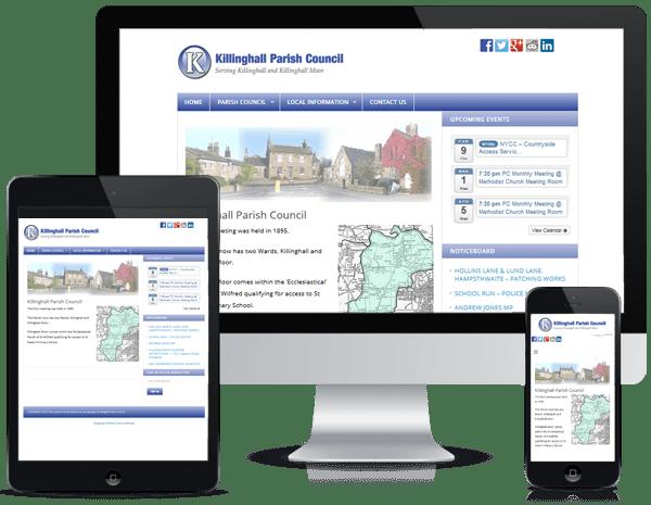 Parish Council Websites - Killinghall PC