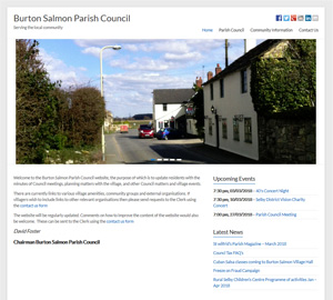 Burton Salmon Parish Council