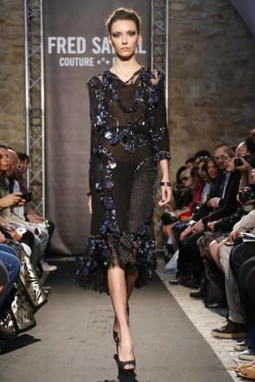 Fred Sathal, Couture, Fall Winter, 2014, Fashion Show in Paris