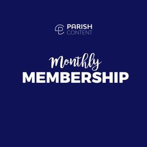 Catholic Social Media Content Monthly Membership