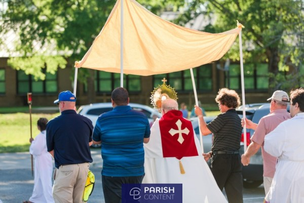 Outdoor Mass Procession