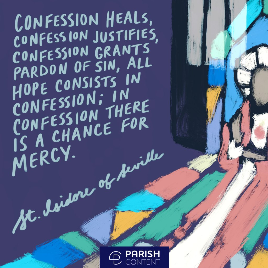 In Confession There Is A Chance For Mercy