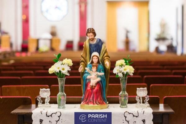 Statues In Church