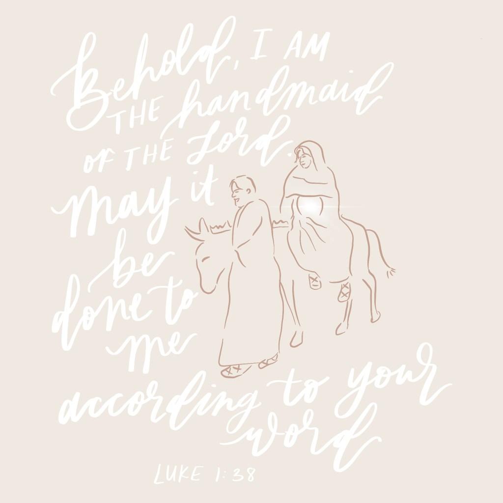 Luke 1 38