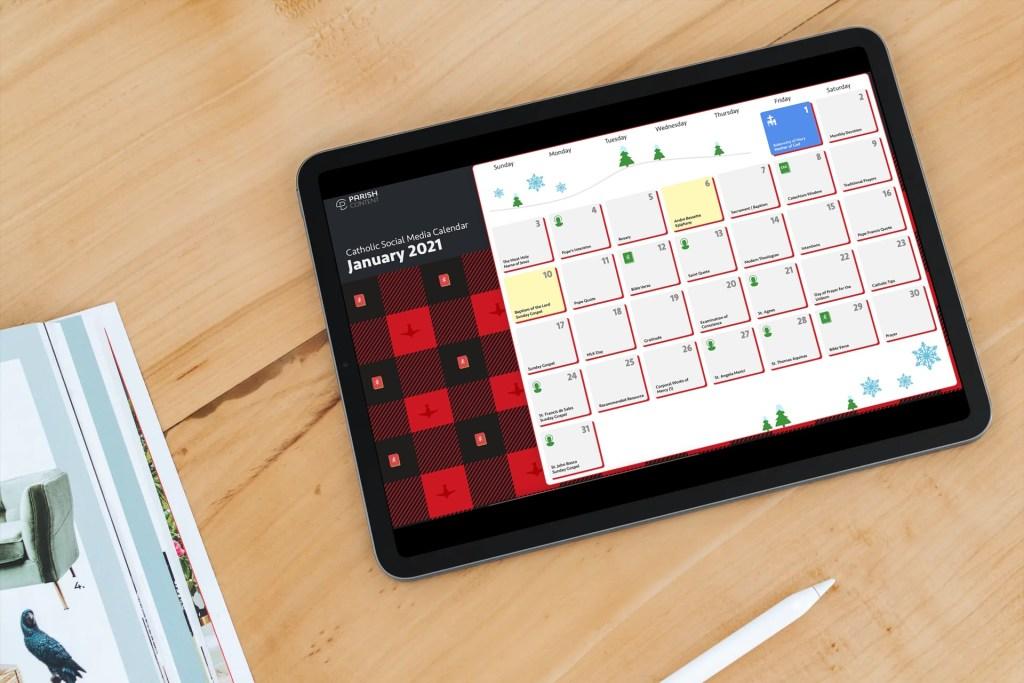 January Content Calendar