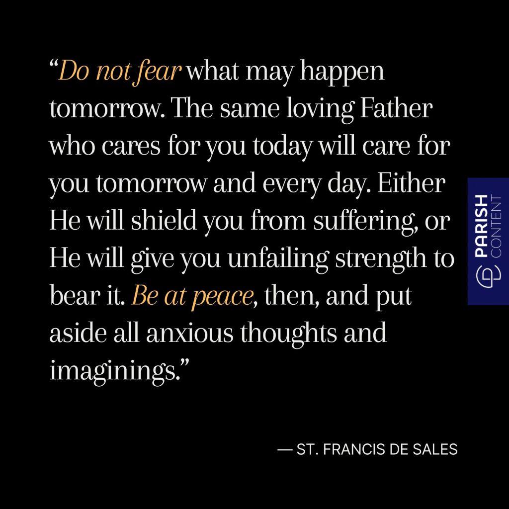 St Francis De Sales Feast Day