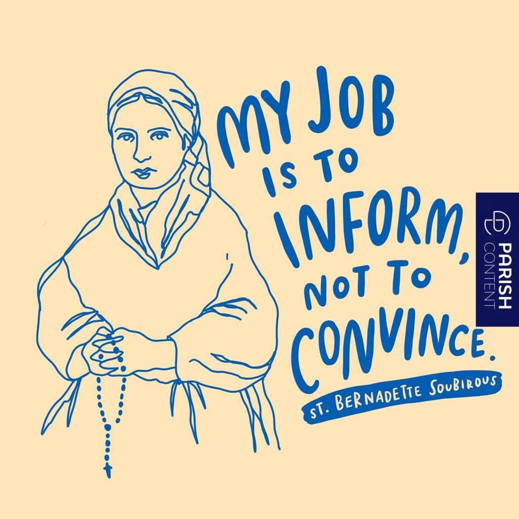 Inform Not Convince