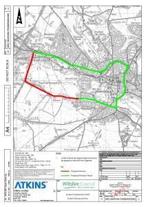 Plan of road closure