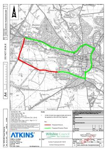 Plan of road closure (click for larger image)