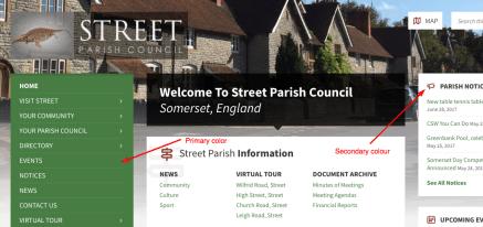 websites for parish councils