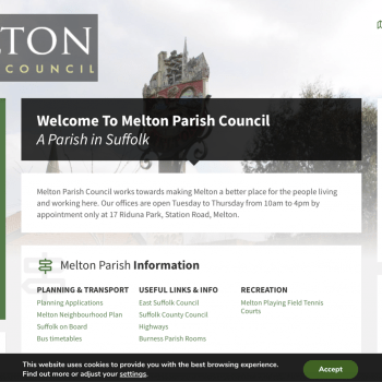 Melton Parish Council Website