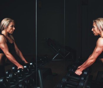 Mirror for Workout Videos