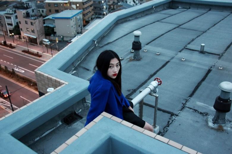 tokyo sky by klara blanc