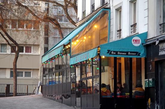 Paris Lights Up La Laverie