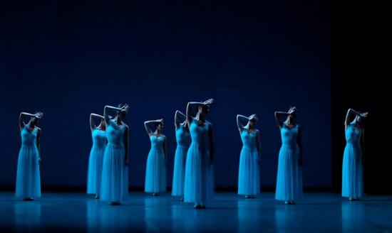 George Balanchine Svetlana Loboff OnP
