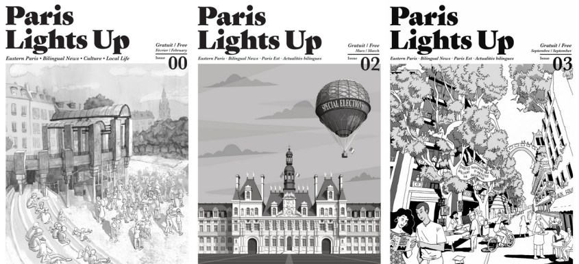 Paris Lights Up Issues 1 2 3