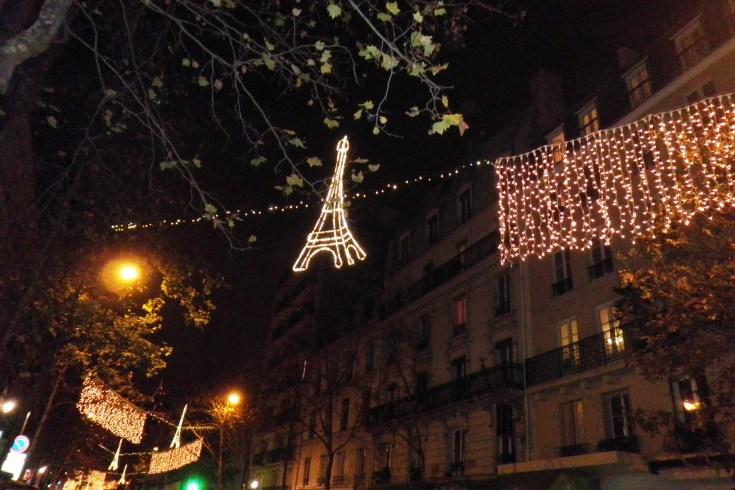 TOUR EIFFEIL PARIS NOEL