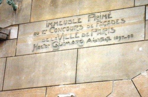 Le-Castel-Béranger de Guimard