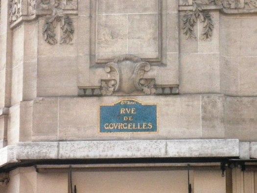 Rue de Courcelles