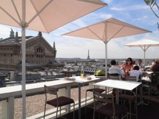 Restaurant La Terrasse Galeries Lafayette