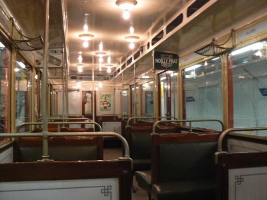 Rame de métro des années 30 Journées européennes du patrimoine 15-09-2012