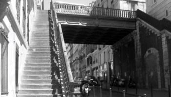 Escaliers des rues de Paris : la rue des Cascades - Paris, Maman & Moi