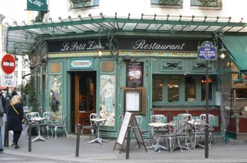 Le Petit Zinc, bistrot Art Nouveau (1)