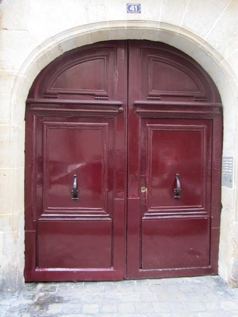 Porte d'immeuble - Paris
