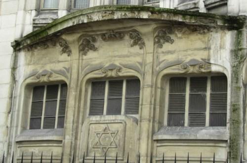 Synagogue Hector Guimard de la rue Pavée