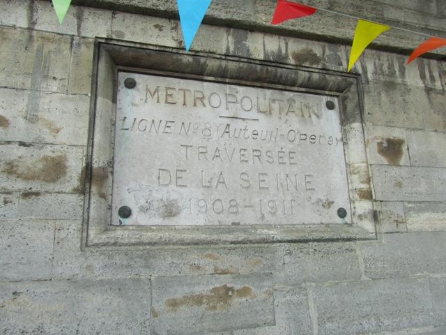 Traversée de la Seine Ligne 8