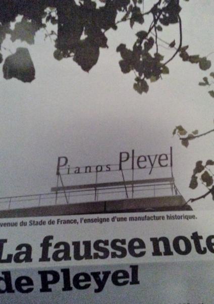 Siège Pianos Pleyel