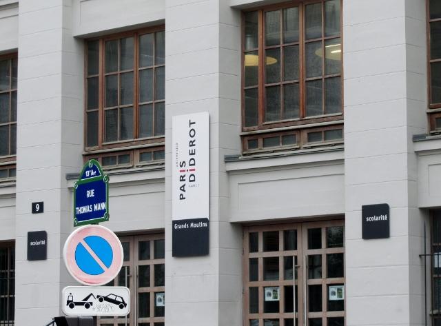Grands Moulins - Université de Paris Diderot