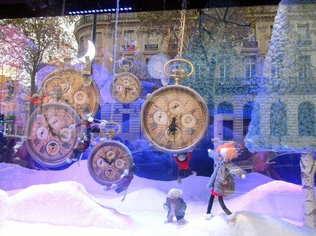 Vitrines des Noël 2013 aux Galeries Lafayette
