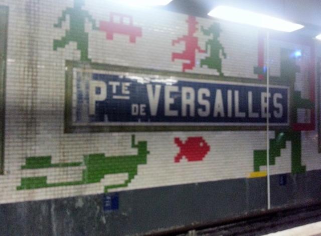 Quais du métro Porte de Versailles (ligne 12)