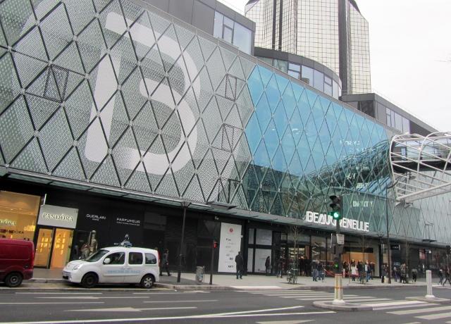 Le centre commercial Beaugrenelle