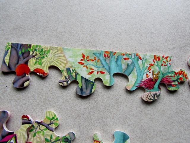 PUZZLE RENCONTRE EN FORET - SOPHIE LEBOT