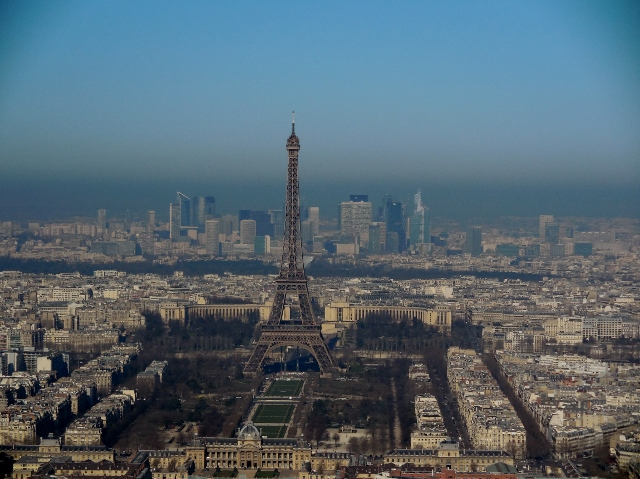 Paris vue depuis la Tour Montparnasse