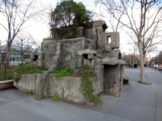 Entrée de parking par Denis Mondineu