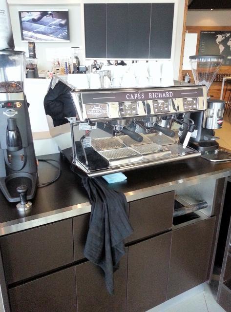 Cafe Richard Expresso Machine