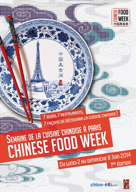 Chineese Food Week - Semaine de la Cuisine chinoise